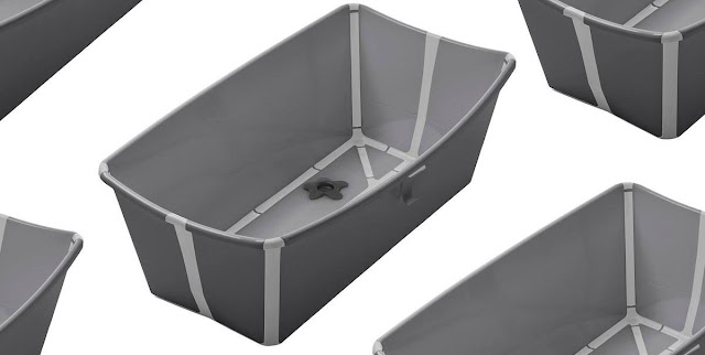 Grey Stokke Flexi Bath