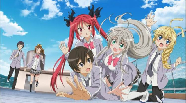 Anime romance comedy terbaik Spring 2012 dengan unsur Sci-Fi dan Parody
