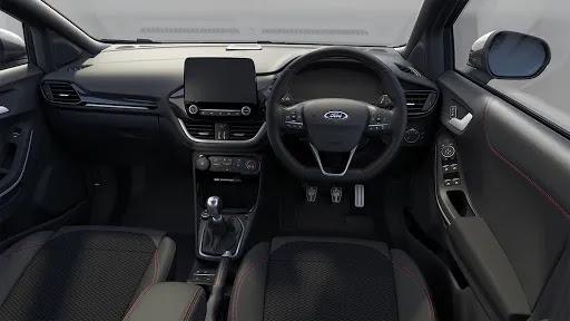 Digital dashboard of Ford Puma ST Line