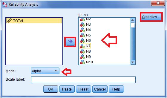 cara uji validitas dan reliabilitas dengan menggunakan program spss statistik 4