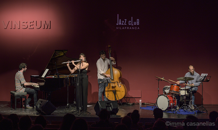 Clara Gorrias Quartet, Auditori de Vinseum, 19 d'octubre de 2019