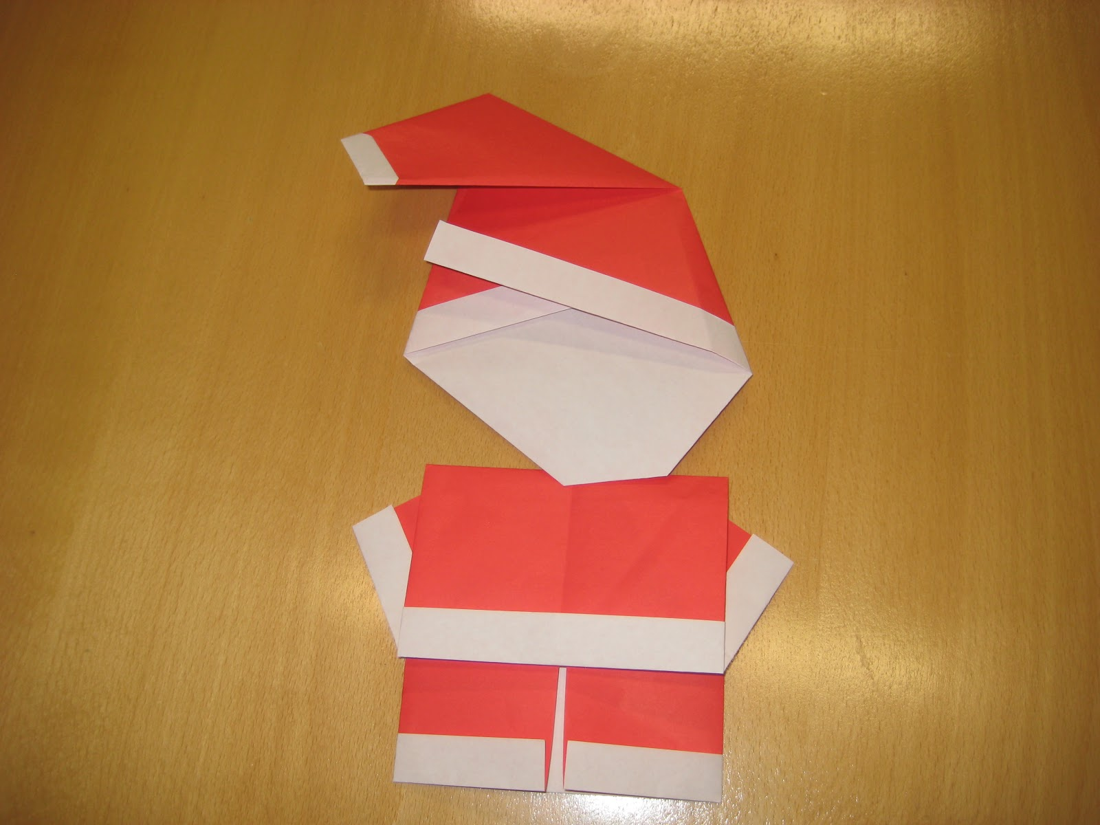 Related image with christmas origami santa hat