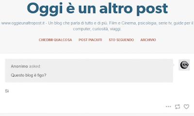 Tumblr Ask