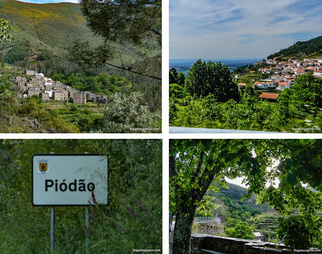 Estrada entre Seia e Piódão, Serra da Estrela, Portugal