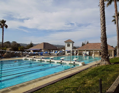Kennedy Club Fitness Pool in Atascadero, Photo © B. Radisavljevic