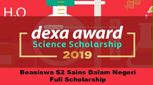 Dexa Awards Science Scholarship