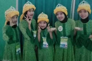 Sharla Martiza, Pelantun Sholawat Voice Kids Indonesia 2 Ternyata Qori'ah Dan Santriwati Sejati