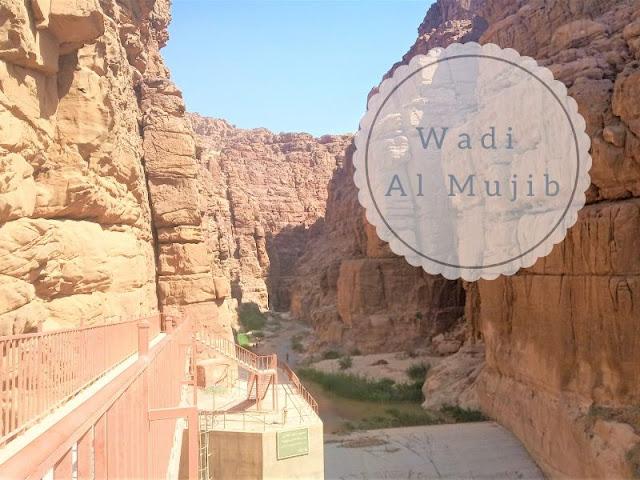 entrata al siq trail nel wadi al mujib