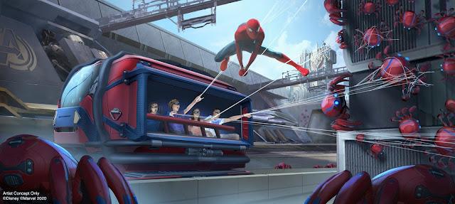 More Details on the Avengers Campus at Disneyland Resort, Disney, Marvel, Disney California Adventure Park