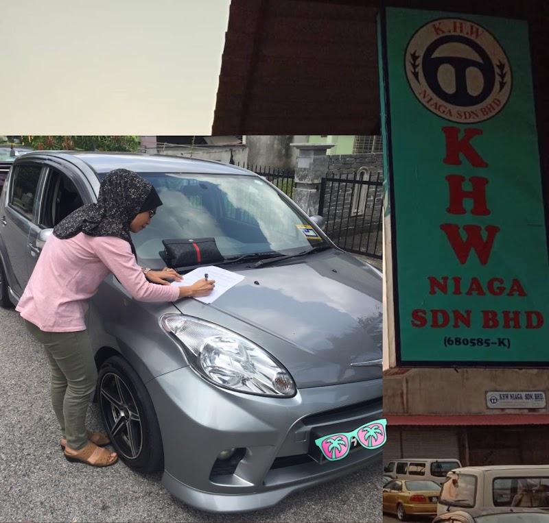 Baiki Kenderaan Selepas Kemalangan bersama KHW Niaga Sdn Bhd