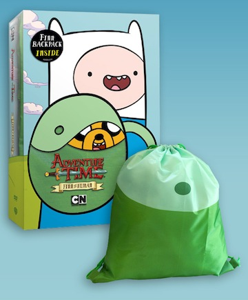 DVD Review - Adventure Time: Finn The Human