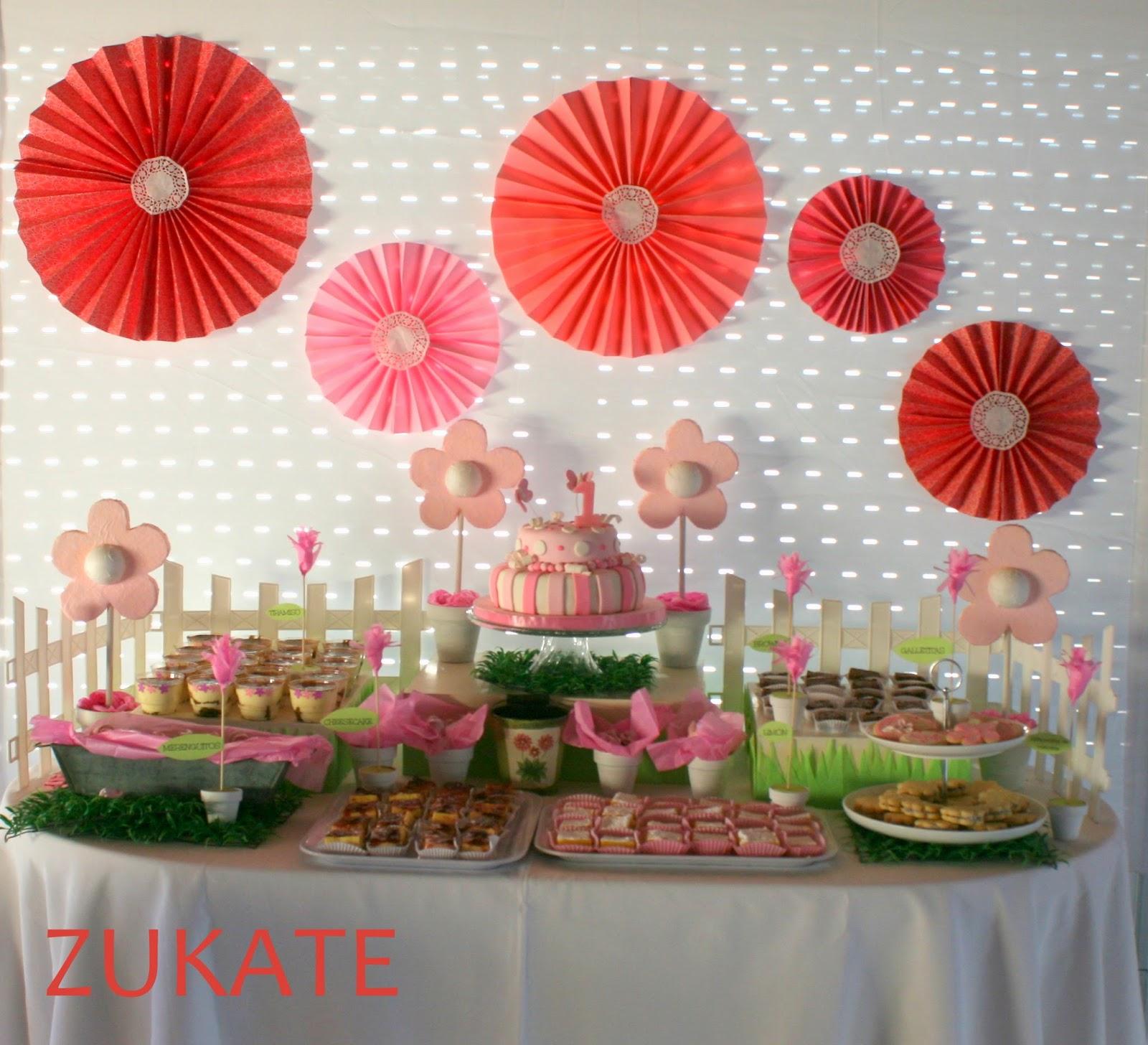 Fiesta De Flores En El Jard 205 N Para Renata Zukate