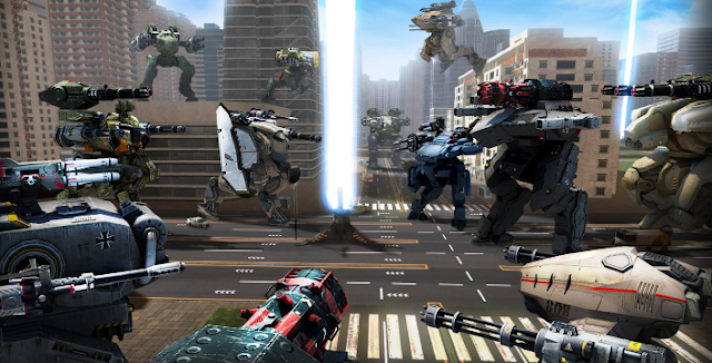 Game Walking War Robots v1.5.1 Mod Apk+Data