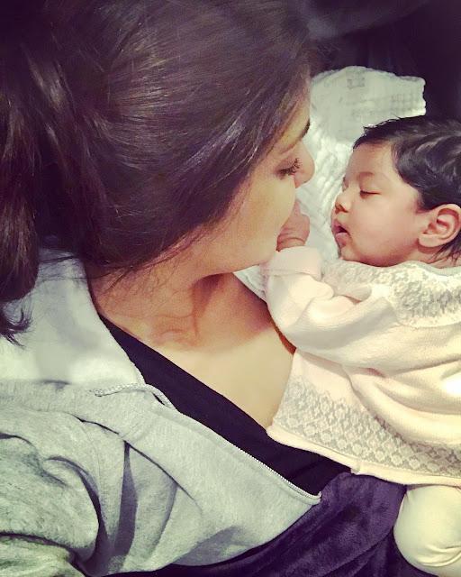 Priyanka-Chopra-with-baby-Masis-Precious-on-Instagram