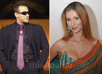 salmankhan's ex girlfriend cloudia