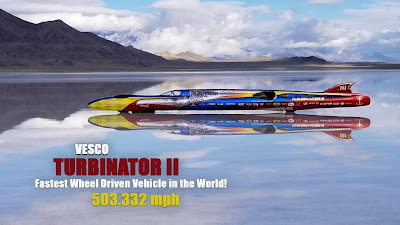 Turbinator II Tembus 809 kmh
