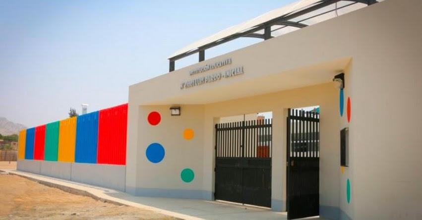Gobierno regional de Lima culmina al 100% construcción de moderna institución educativa «Luís Pardo», en el distrito de Sayán, Huaura