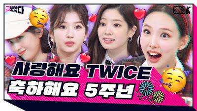 TWICE on KBS BOATTA