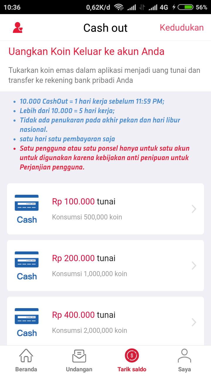 Cara Cepat Dapat Koin Di Cashzine Dan Tutorial Kode Bonus