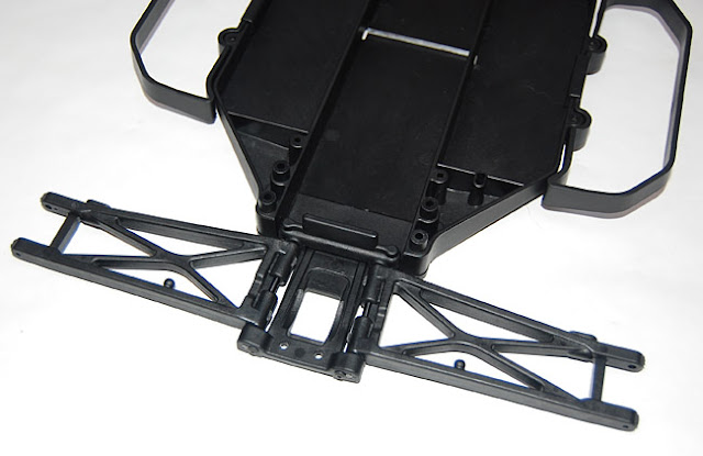 Team Associated SC10 rear suspension arms