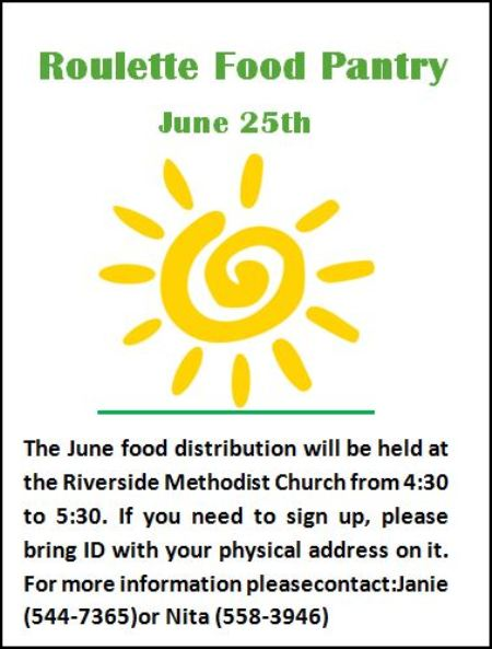 6-21 Roulette Food Pantry