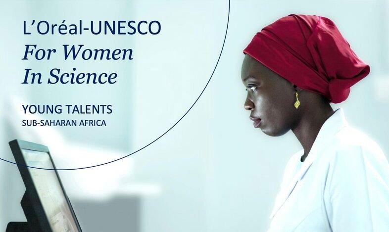 L'Oréal-UNESCO Sub-Saharan Africa Young Talents Programme 2021