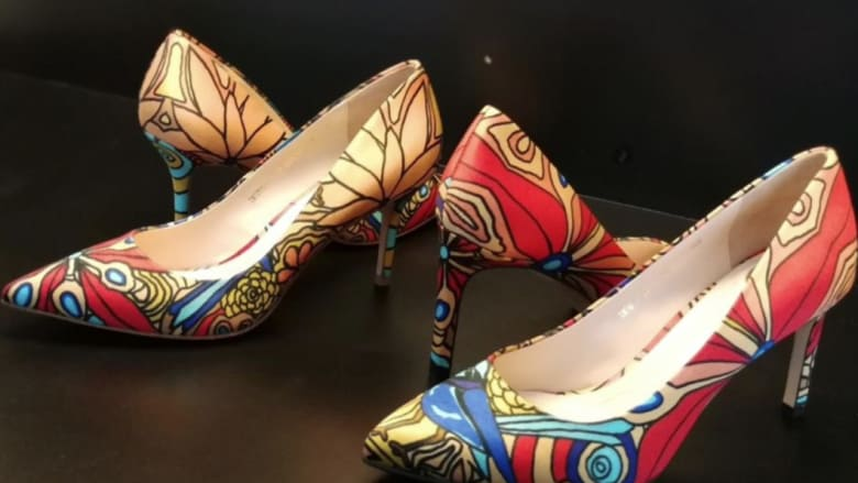 99b9be73b329 All about shoes  Julie Bishop   St Louis Blues over Jimmy Choo shoes