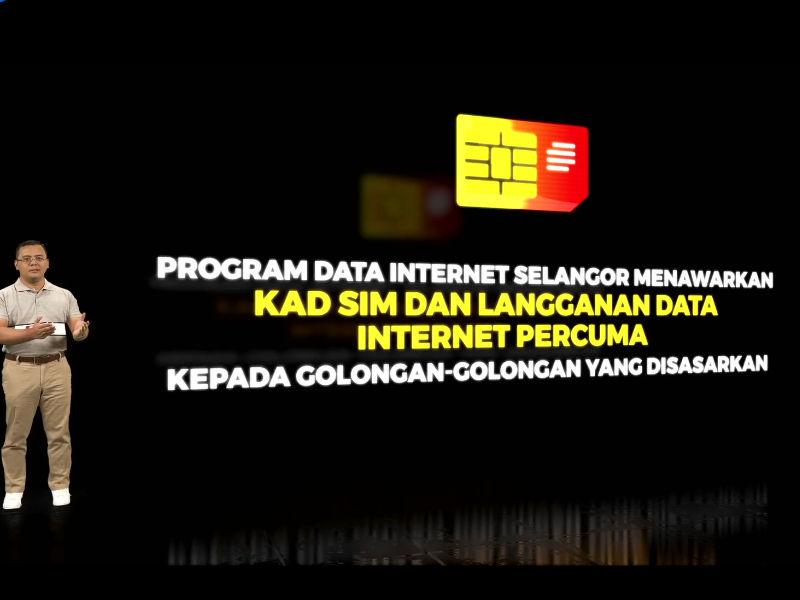 Selangor tawarkan kad SIM bersama data internet percuma selama setahun