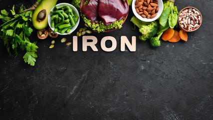 Eat iron rich food