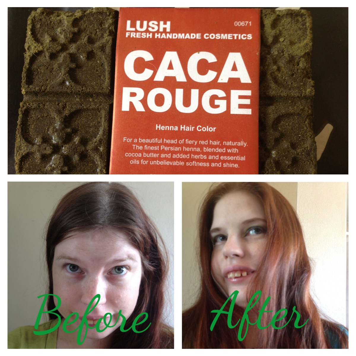 Confessions Of A Dance Pants Addict Caca Rouge Henna From Lush