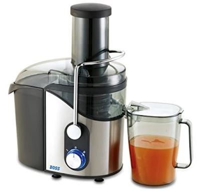 Boss Pulpmix B612 800-Watt Juice Extractor to Treat Yourself Healthy Homemade Juice Every Day