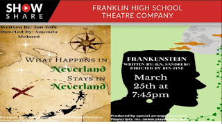 Senior Student Directed 1 Acts: 2 plays each on 2 nights - Thu