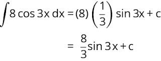 Pembahasan soal integral nomor 8