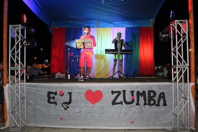 CarnaZumba movimenta a cidade no pré Carnaval de Senador Sá. Confira!