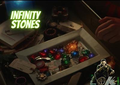Loki - infinity stones