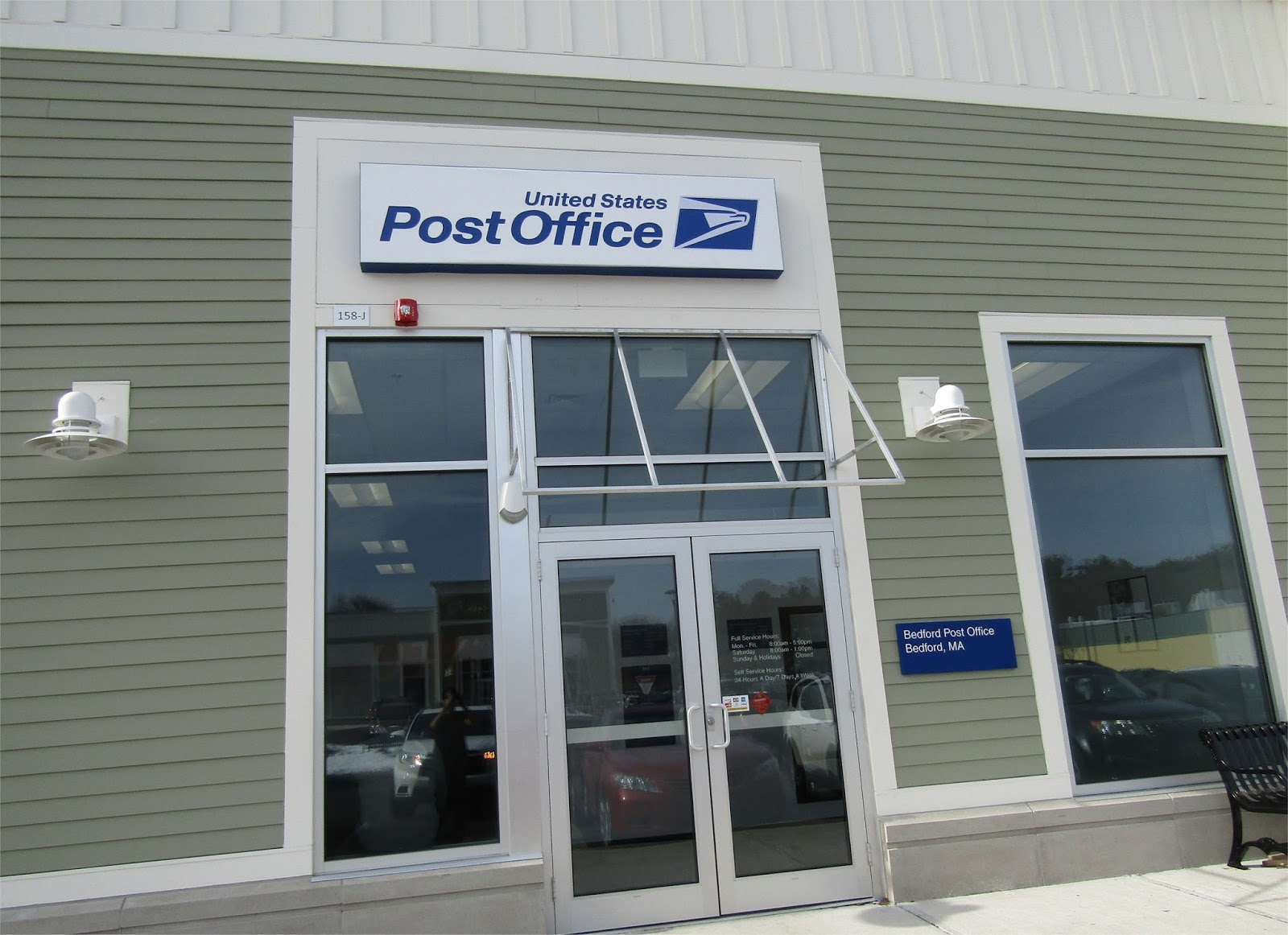 Bedford mass what 39 s new in retail a permanent united states post office returns to bedford - United states post office ...