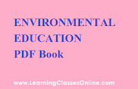 Environmental Education in engilsh, Environmental Education ebook, Environmental Education b.ed,