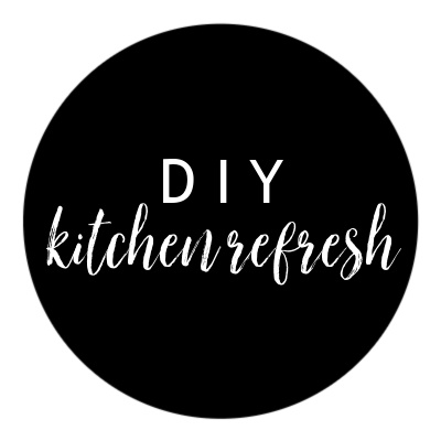 diy, kitchen refresh, painted cabinets, home project, nc blogger, north carolina blogger