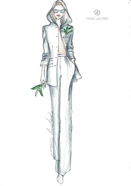tailleurs féminin création sur mesure Paris @ FANNY LIAUTARD