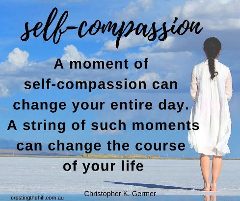 A moment of self-compassion can change your entire day. A string of such moments can change the course of your life. #inspirationalquotes