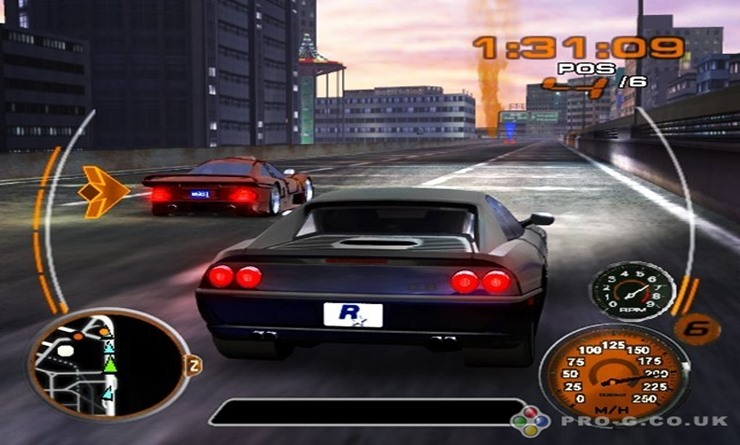 midnight club 3 ps2 formato iso