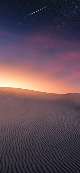 Gray desert front of sunlight wallpaper