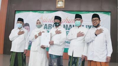 Cabup-Cawabup AMAN Tandatangani Kontrak Jamiyah Di Hadapan Rais Syuriah dan Ketua Tanfidziyah PCNU Tuban