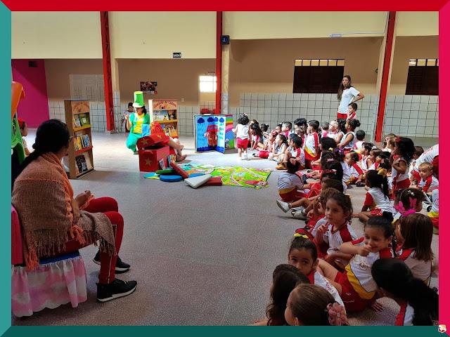 Colégio Santa Joana D'Arc vivencia e intensifica o dia internacional do livro infantil que ocorrerá no dia 18 de abril