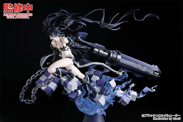 1/7 Scale Figure Black Rock Shooter: HxxG Edition