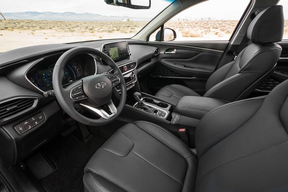 Hyundai SantaFe named a 2019 Wards 10 Best Interior