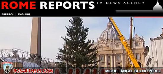 El árbol de Navidad llega al Vaticano | Rosarienses, Villa del Rosario