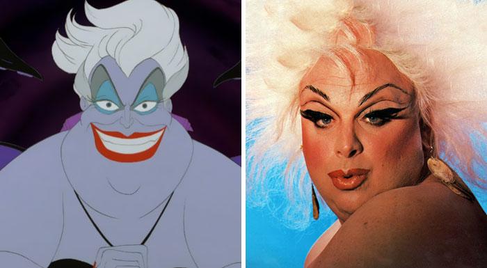A vilã Ursula do filme A Pequena Sereia foi inspirada pelo personagem de  Harris Glenn Milstead, a Drag Queen Divine. 1e49b1f014