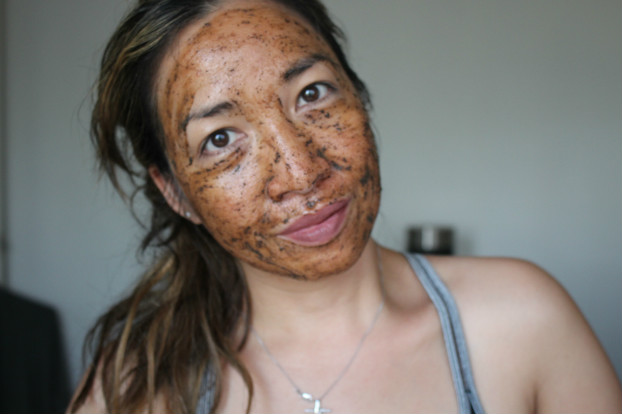 kaffe facial coffee scrub, benefits coffee on skin