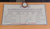 Tarifas, horarios, buses, colectivos,  Huai Xay, Luang Namtha